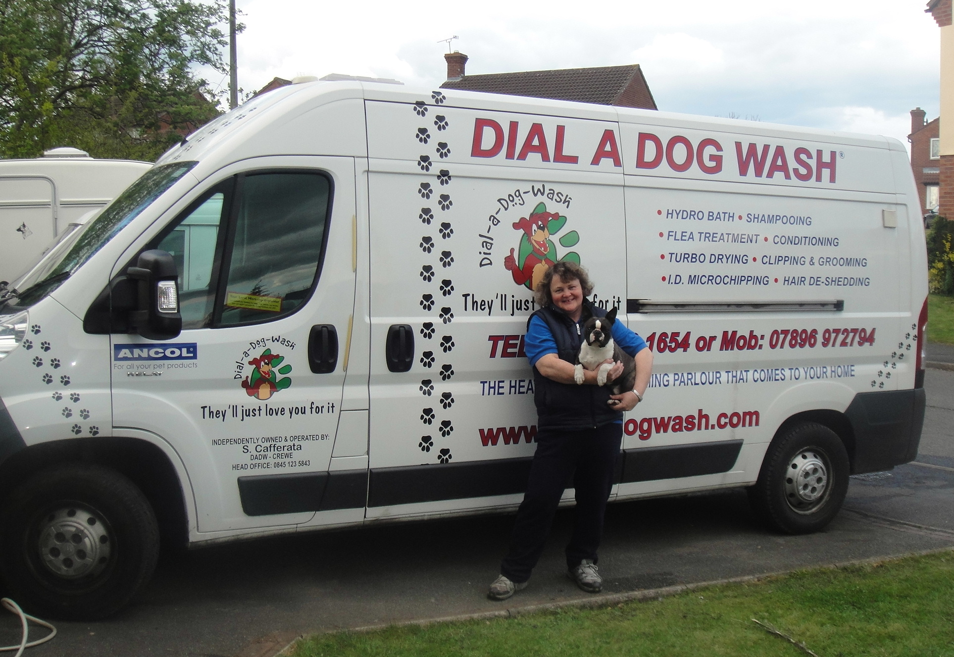 dog groomers crewe mobile dog groomers bradwell dial a dog wash